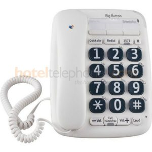 BT Big Button Series Corded Desk Phone
