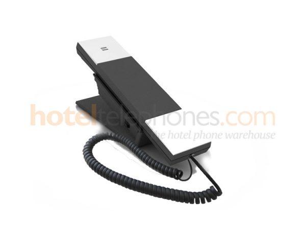 Jacob jensen IP20 slim black and silver hotel phone